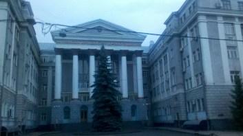 Автодорожній університет має більші корпуси ніж Шева.