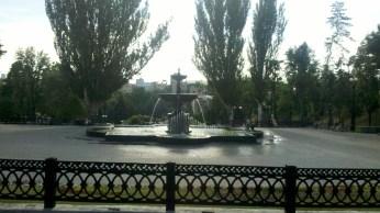 Ще фонтан.