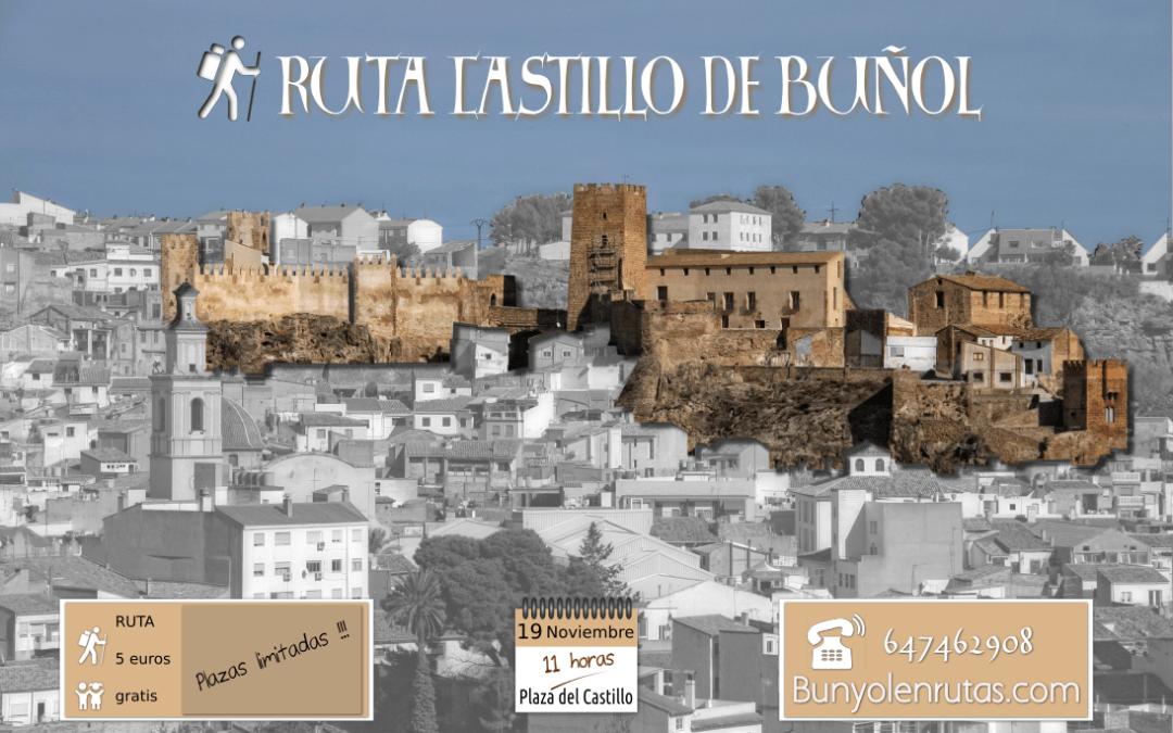Ruta al Castillo de Buñol 19 Noviembre
