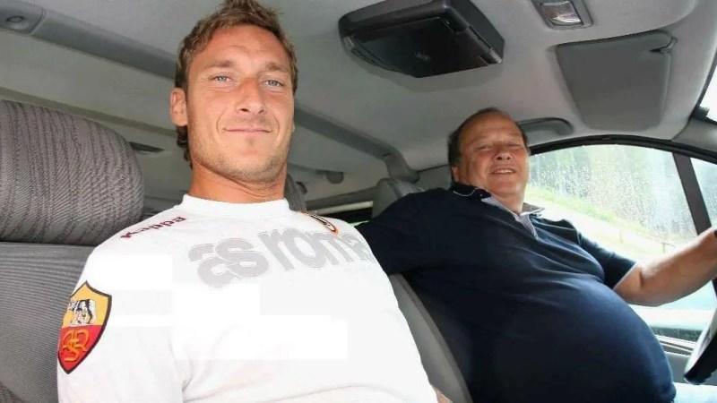 AS Roma- E' morto Enzo Totti, il papà di Francesco Totti. Positivo al Covid