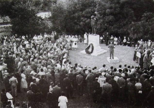 Raffaele De Grada inaugura il Museo a Villa Fabbricotti - inizio anni Cinquanta