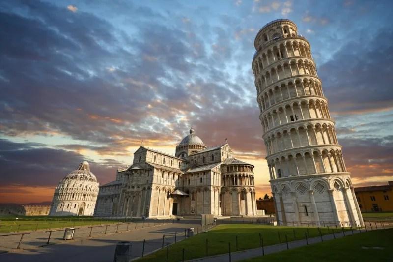 ピサの斜塔と大聖堂