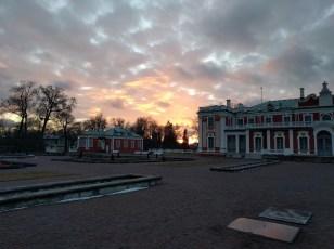 At Kadriorg Palace.