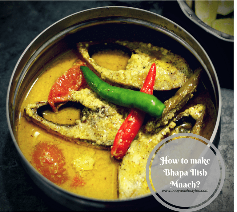 How to make Bhapa Ilish Maach (Steamed Hilsa Fish)!