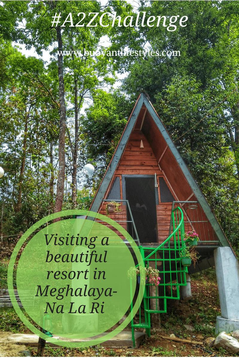 Visiting a beautiful resort in Meghalaya- Na La Ri Resort