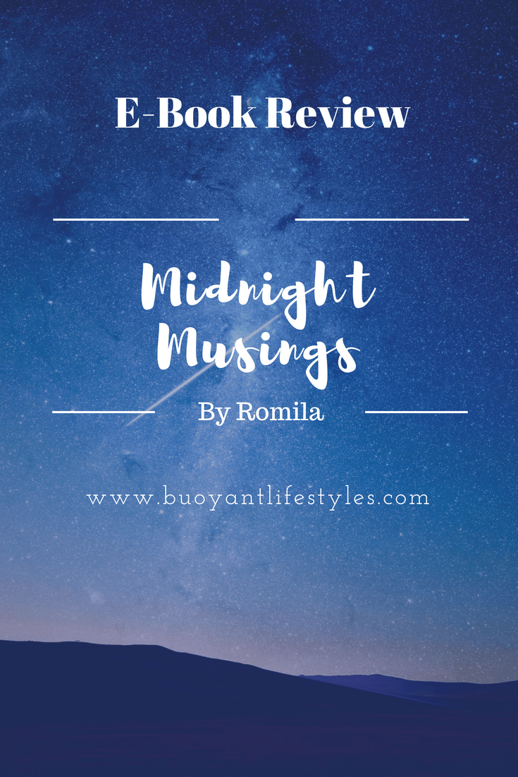 """E-book review """"Midnight Musings by Romila"""""""