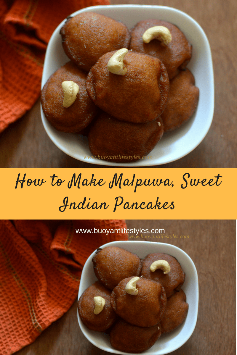 How to Make Malpuwa, Sweet Indian Pancakes