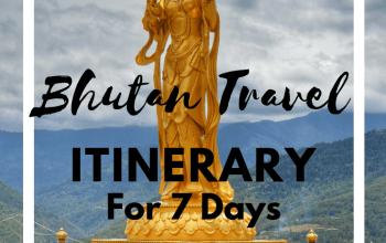 Places to visit in Bhutan + Bhutan travel itinerary + bhutan travel guide + places of interest in Bhutan #bhutantravelguide #bhutan #phuentsholing