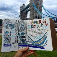 Diario disegnato di Londra (semi-serio)