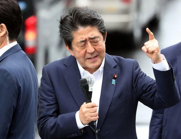 安倍さん(ターゲット画像)