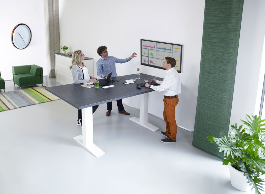 travailler debout mobilier bureau Burama 3