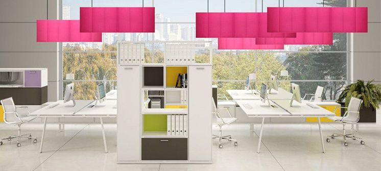 aménagement de bureau professionnel open space burama 2