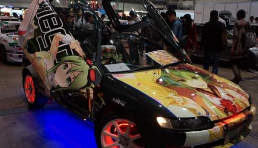 『ニコニコ超会議2』入場口では痛車、痛単車がお出迎え![#chokaigi]