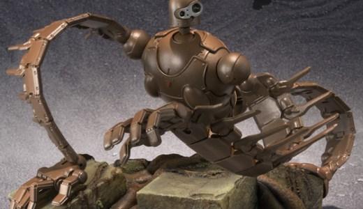 『想造ガレリア』シリーズ誕生!第1弾はジブリ不朽の名作『天空の城ラピュタ』ロボット兵がフィギュアになって登場!