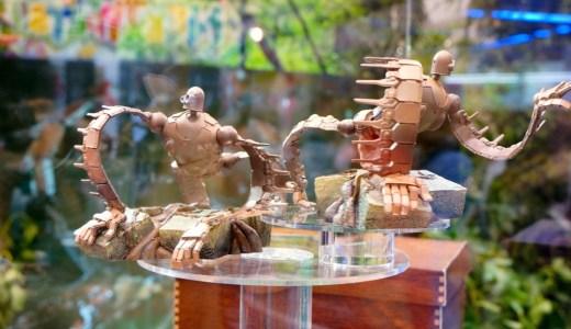 【東京おもちゃショー2013】『想造ガレリア』シリーズ第1弾 『天空の城ラピュタ』ロボット兵フィギュアを一足先に見て来ました。