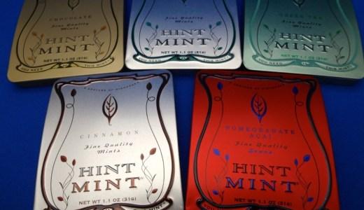 最強のミントタブレット!?オシャレなケースで持っていて楽しく、食べて美味しい『HINT MINT(ヒントミント)』に完全にハマった!