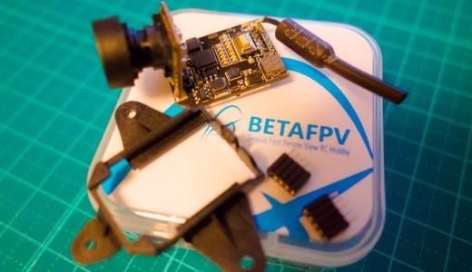 BETAFPVの新しいフープ用FPVカメラ『Z02 AIO Camera』を眺めながら次の自作機を考える!【Tiny Whoop】