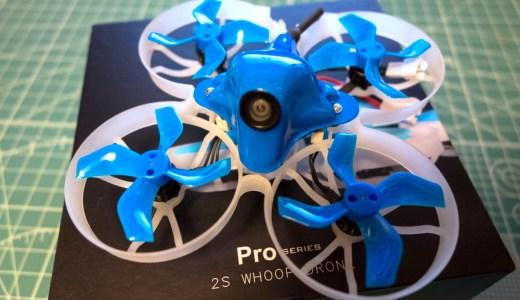 【BETAFPV】08028モーター&Z02カメラに仕様変更された『Beta75 Pro2』。PNP版ではブザーポートもあり野外飛行でも安心!