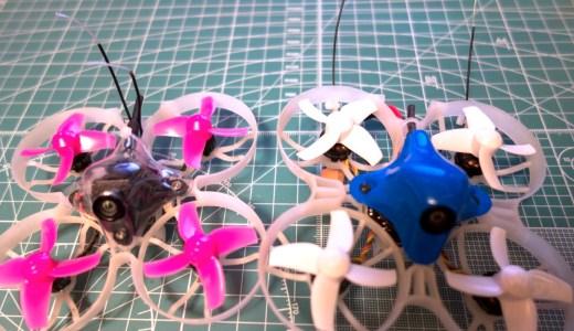 【Tiny Whoop】機体のメンテナンス。Frsky xm +レシーバのアンテナ交換をやってみた!