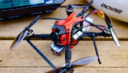【Toothpick】4セル対応Toothpick『SKYSTARS TALON X110』。標準でFrsky xm+レシーバー&100mW VTX搭載で野外でかっ飛ばすには良さそうな構成ですね!