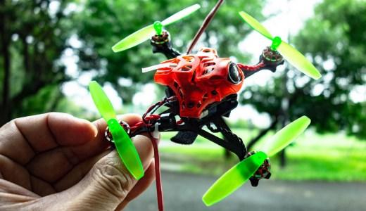 【Toothpick化】Happymodel  Mobula7をToothpick化してみた!2セルToothpick機だけどコイツもよく飛んでくれます!