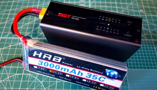 【iSDT FD-100】使わなかったバッテリーの放電に便利!Smart Discharger『iSDT FD-100』