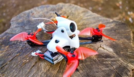 【Emax Tinyhawk Ⅱ RACE】TinyhawkがToothpick形状のレースバージョンとなって登場!小さいのによく飛びます!