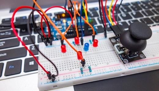 【Arduino入門編⑦】ジョイスティックの制御方法!デジタル・アナログ入力の解説です!