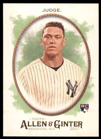 2017 Topps Allen and Ginter #172 Aaron Judge RC