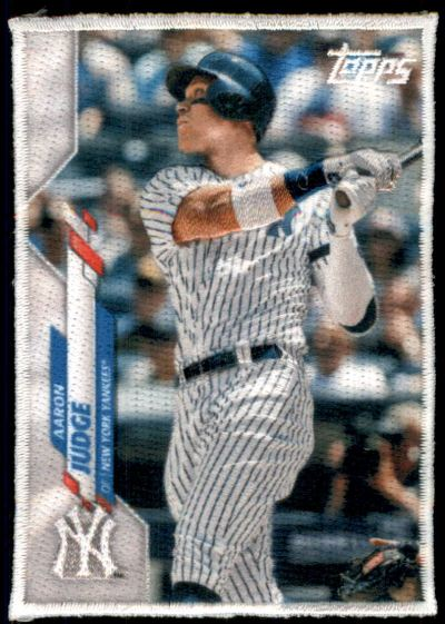 2020 Topps Update Boxloader Patches #NNO Aaron Judge