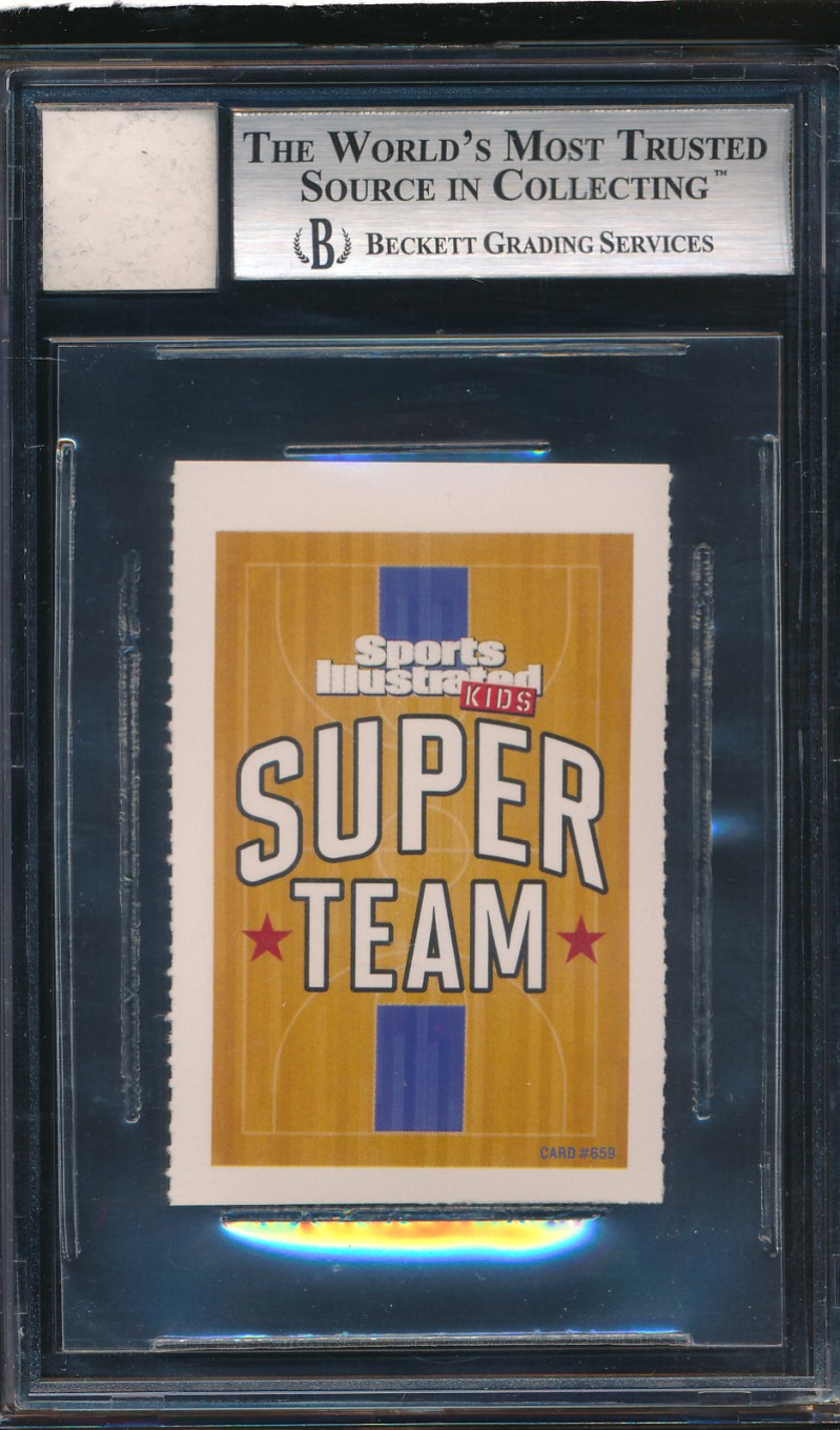 2002 Certified Game Jersey Trading Card Lebron James BGS