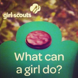The Arrival of Girl Scout Cookies!