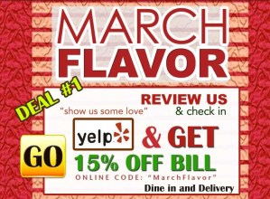 Flavor Of India March Special