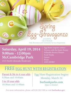 Easter Fun For You & The Kids In And Around Burbank!