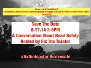 "Car Crashes Are The Number One Killer Of Our Children ages 1-24. Did You Know That? Help ""Drive"" Awareness To This Cause With FixTheToaster.com"