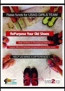 Don't Throw Away Your Old Shoes…Golden State Gymnastics' USAG Team Is Holding A Shoe Drive!