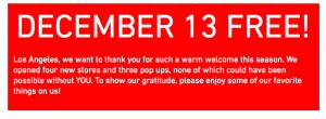 Get In Free To The LA Zoo Saturday, December 13th, Courtesy Of UniqloLA!