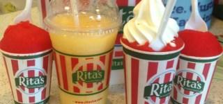 Beat the summer heat with Ritas Italian Ice