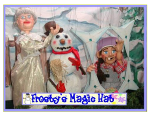 Franklin Haynes Marionettes presents Frosty's Magic Hat @ Buena Vista Library | Burbank | California | United States