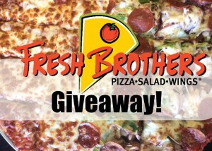 Fresh Brothers Pizza Will Open In Burbank Monday, May 8th, And I've Got A Fantastic Giveaway!