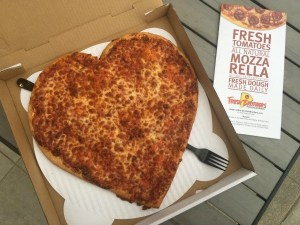 Fresh Brothers Is Dedicated To Their Community! Enter To Win A Special Heart Shaped Pizza For Mother's Day!