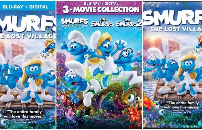 'Smurfs: The Lost Village' Debuts on 4k, Blu-Ray and DVD Tuesday, July 11th!