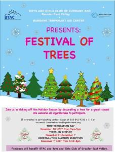Burbank Temporary Aid Center - Festival of Trees @ Burbank Mariott