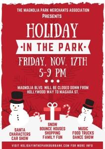 Holiday In The Park - Magnolia Park Burbank @ Magnolia Park Burbank