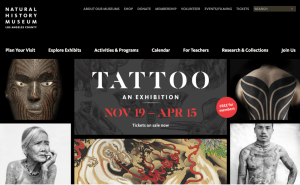 TATTOO: An Exhibition at Natural History Museum of LA @ Natural History Museum Los Angeles | Los Angeles | California | United States
