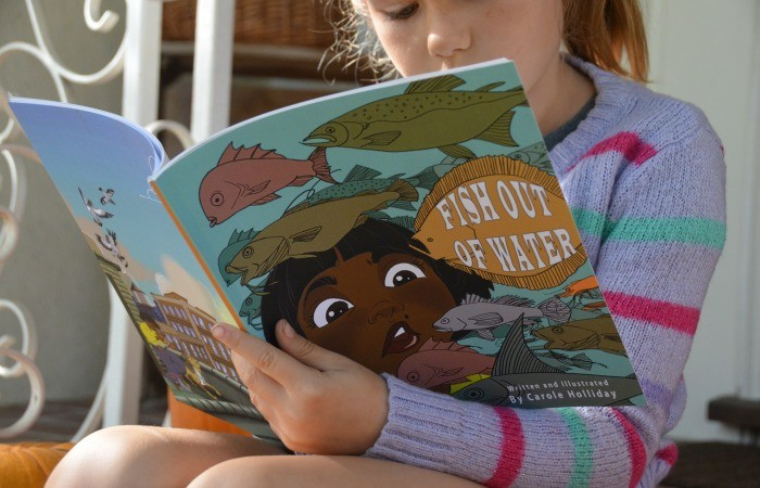 Local Children's Author Creates An Amazing Story Of Determination And Grace In 'Fish Out Of Water'