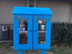 Burbank's First Little Free Pantry Is Up And Running