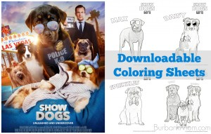 Downloadable Coloring Sheets For The Upcoming Family Film, 'Show Dogs!'