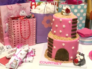 Two Little Monkeys Bakery Delivered The Ultimate Hamster Cake In Both Design And Flavor!