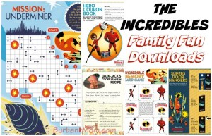 Download These Activity Sheets For 'The Incredibles 2', In Theaters Today!